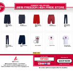 Looking for the Perfect Gift?? Shop at the Freedom High Pride Store TODAY!!