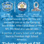 College Football Bowl Season: Purchase Tickets and Support FHS Athletics