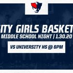 THURSDAY NIGHT: Freedom Girls Basketball – Middle School Night – vs University at 6pm