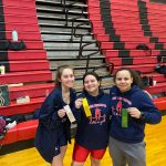 3 Girls Weightlifters Place at Regionals