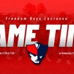 2020 Freedom Lacrosse Season Begins This Week
