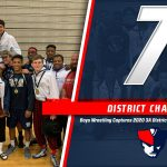 Boys Wrestling Dominates at Districts, Captures 7th Consecutive Title