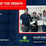 Freedom Athlete of the Month Presented by Crocs – Kalani Rivas