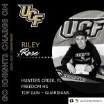 Senior Cheerleader Riley Rose Commits to UCF