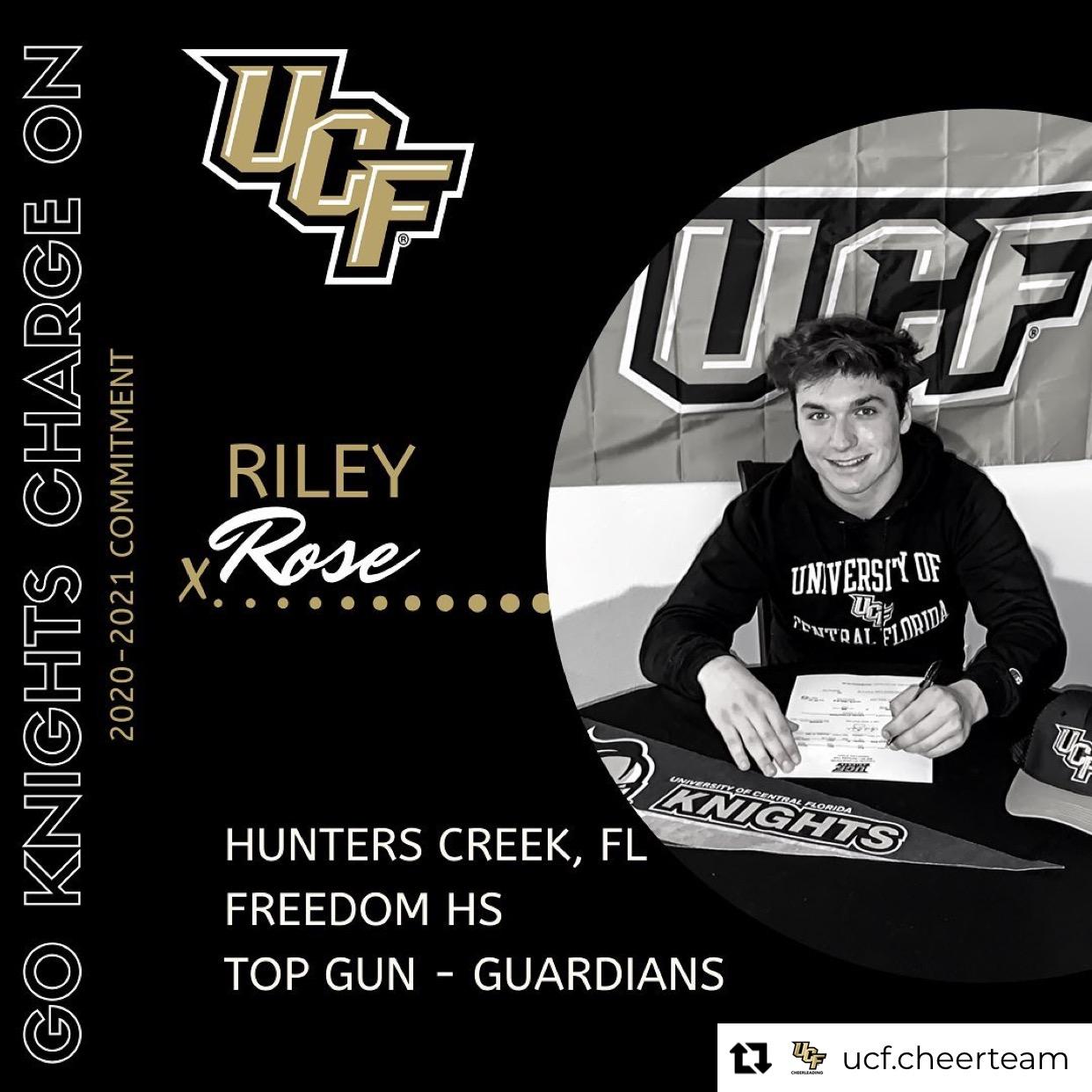 Senior Cheerleader Riley Rose Commits to UCF