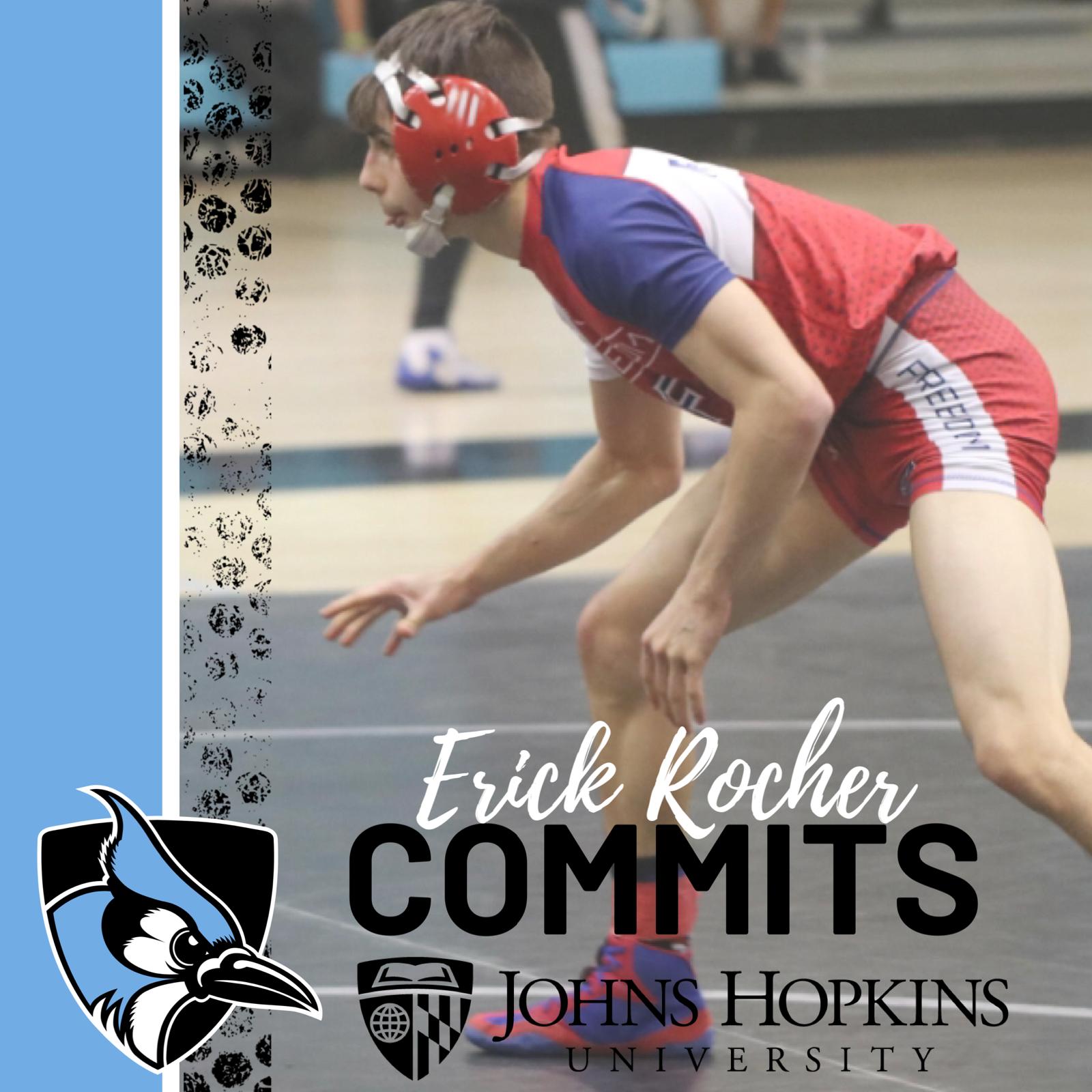 Erick Rocher Commits to Johns Hopkins University