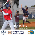 Tyler Cassidy Earns All-Metro Honors