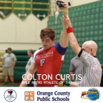 Colton Curtis Named Male Metro Athlete of the Year