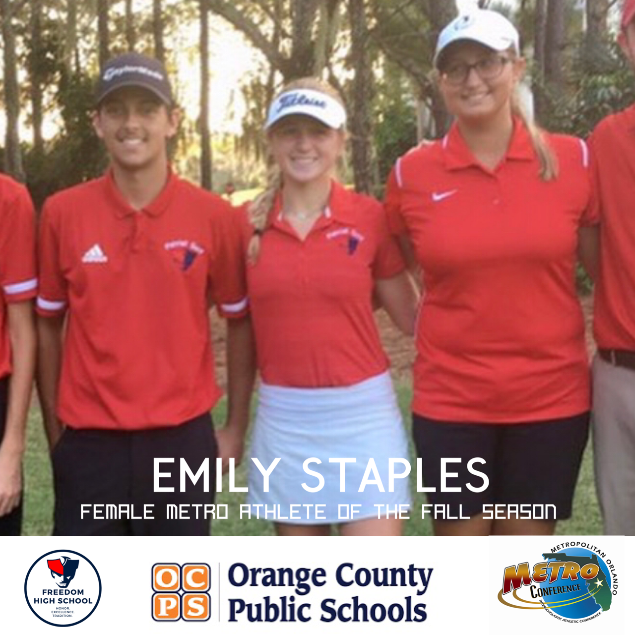 Emily Staples Named Female Metro Athlete of the Fall Season