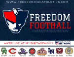 Freedom Football Kicks Off Sept. 17 – Watch Live on NFHSNetwork.com