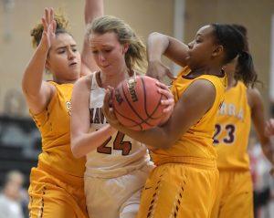 Girls Basketball vs. Mead HS Round 2 2018 Playoffs Photo Gallery