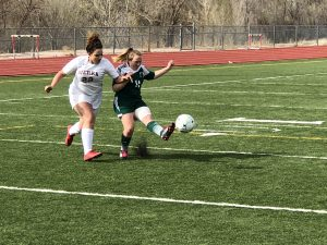 Photo Gallery: Girls Soccer vs. Woodland Park 4/19/2018