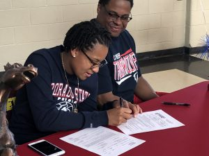 Photo Gallery: Aubrey Robinson Signing With CSU-Pueblo
