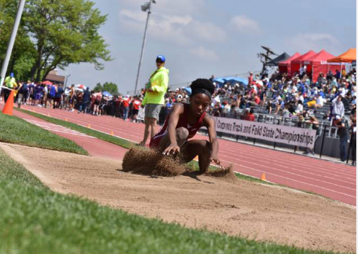 Sierra's Alexandria Burns Wins Gold at State Track in The 3A Triple Jump
