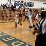 Girls Varsity Basketball falls to Air Academy 48 – 44