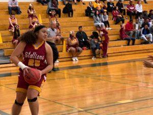 Photo Gallery: Girls Basketball Sweet Sixteen vs. Air Academy 2/26/2019