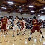 Boys Varsity Basketball falls to Cheyenne Mountain 64 – 63