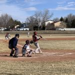 Boys Varsity Baseball falls to Pikes Peak Christian 19 – 4