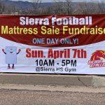 Football Mattress Fundraiser Today!