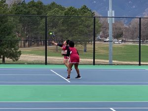 Photo Gallery: Girls Tennis vs. Sand Creek