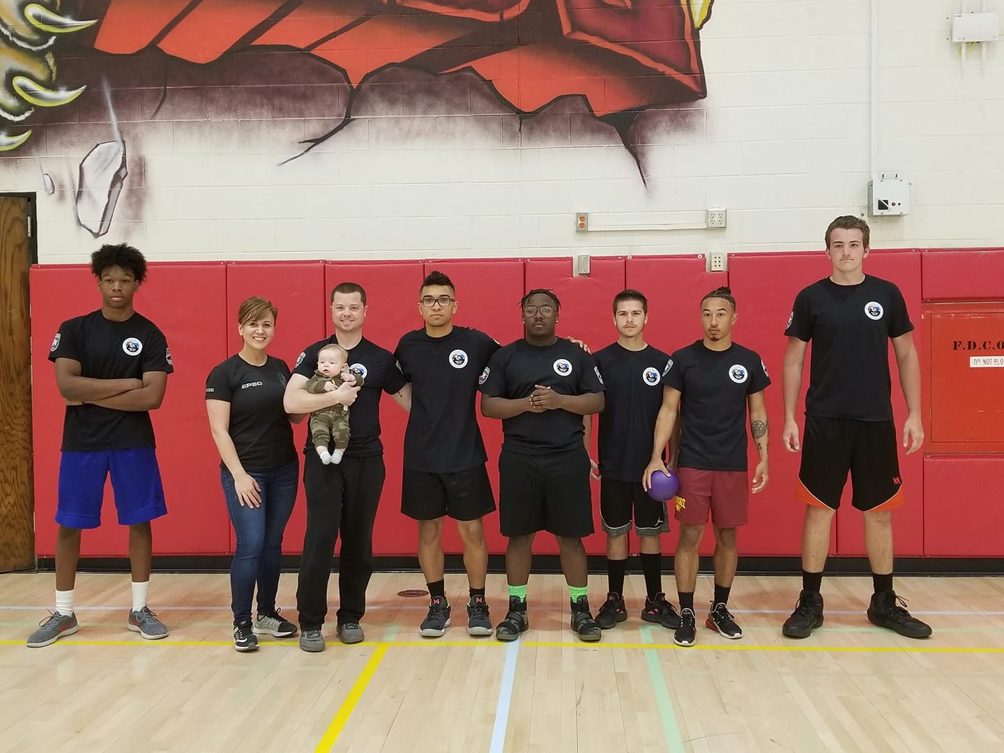 Sierra Places 2nd in El Paso County Sheriffs Dodgeball Tournament!