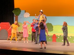 Photo Gallery: Elementary Performance of You're a Good Man Charlie Brown