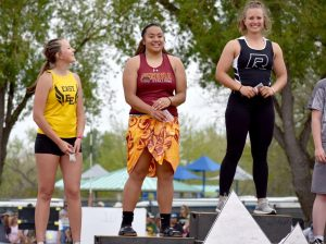 Photo Gallery: Gya'ni Sami State Runner Up in 4A Girls Discus