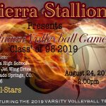 1st Annual Sierra Alumni Volleyball Game