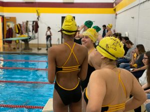 Photo Gallery: Girls Swim vs. St. Mary's
