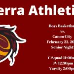 Boys Basketball Senior Night 2020