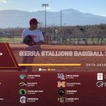 2020 Sierra Baseball Season