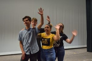 Pictures of Sierra Theatre Rehearsing for their Spring Show