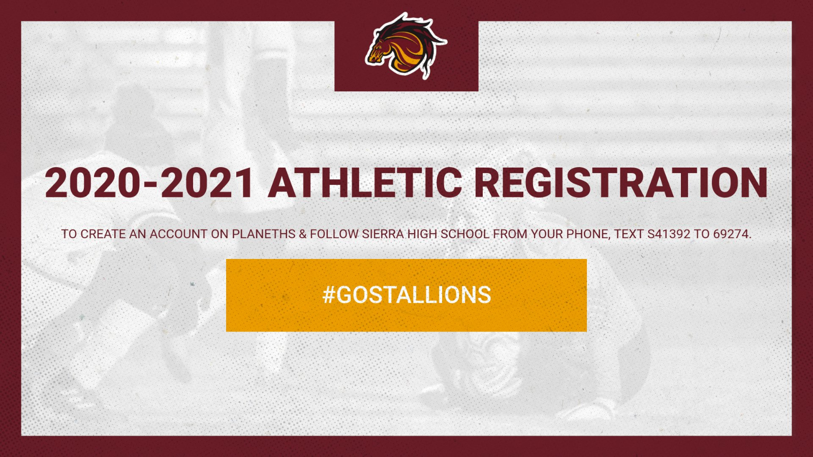 Online Athletic Registration for the 2020-2021 School Year