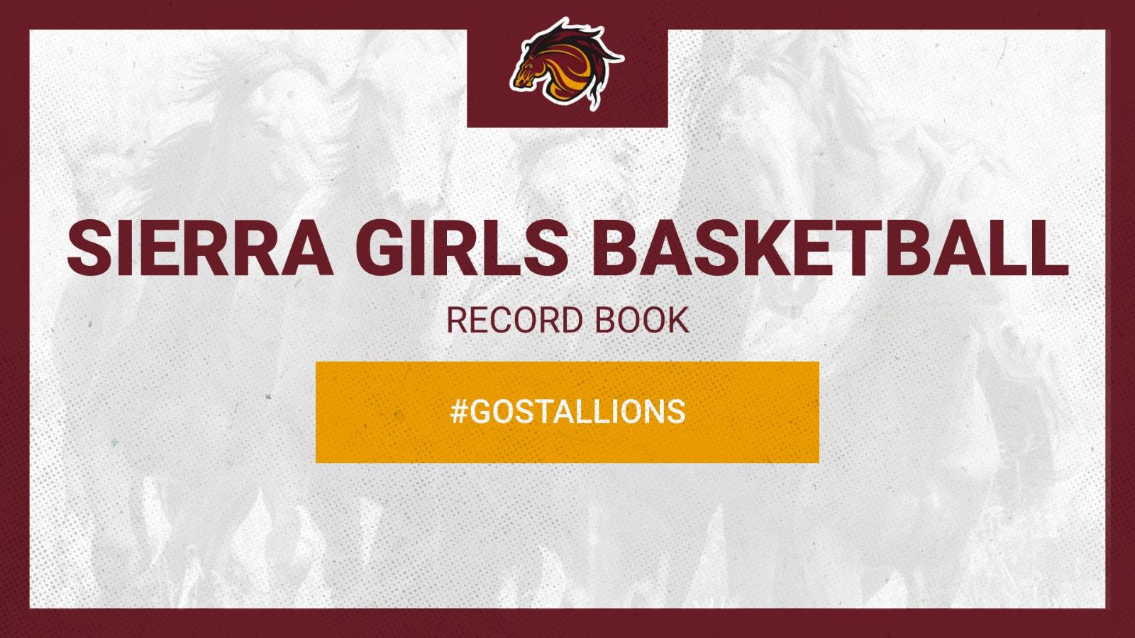 Sierra Girls Basketball History Stats (Season and Career )
