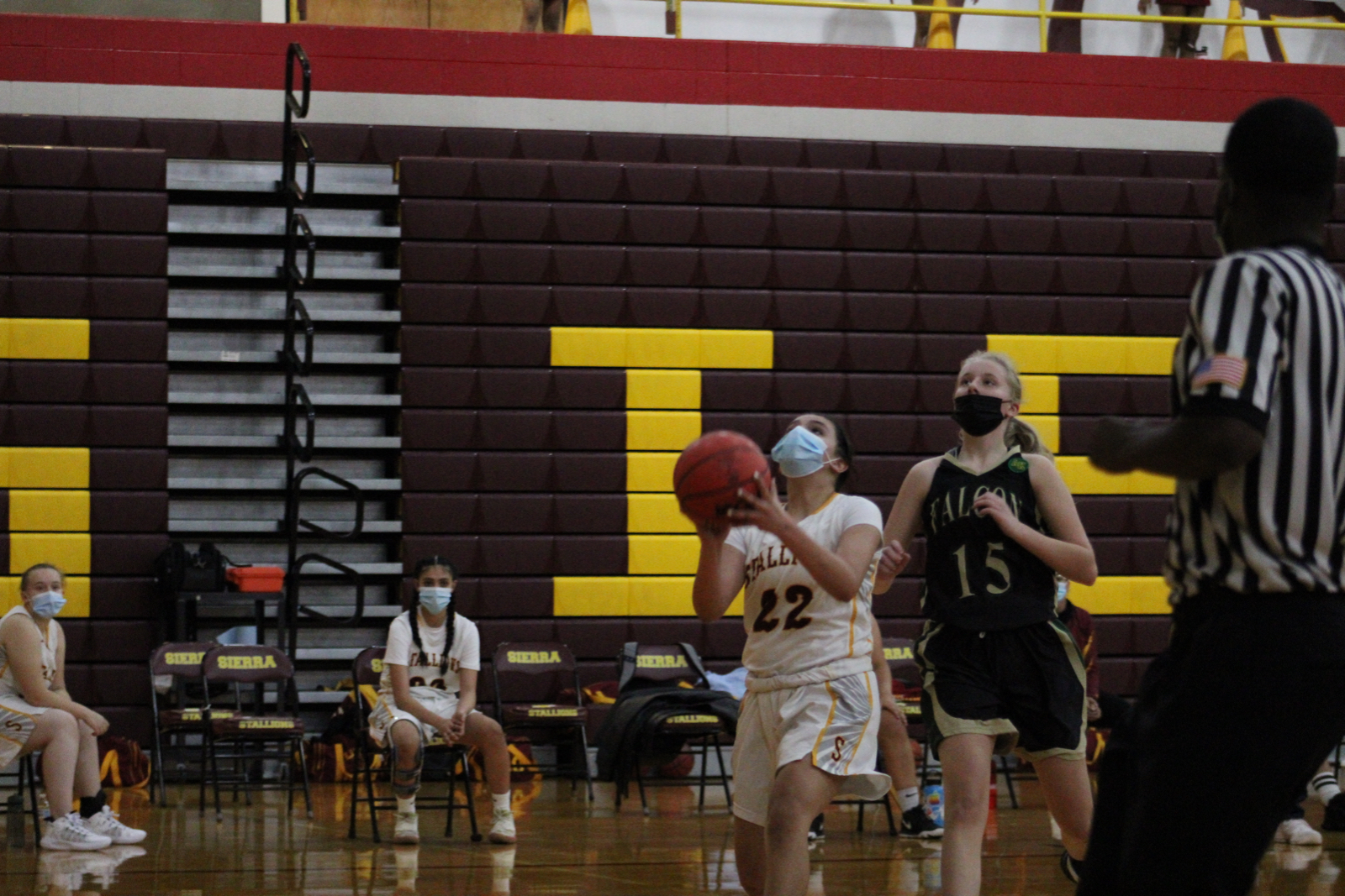 Photo Gallery: Girls C-Squad Basketball vs. Falcon