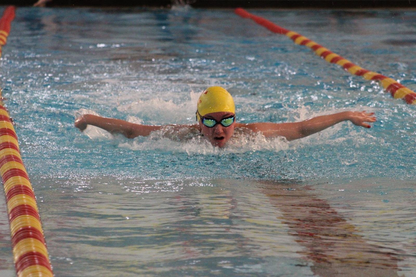 Photo Gallery: Girls Swim vs. Widefield
