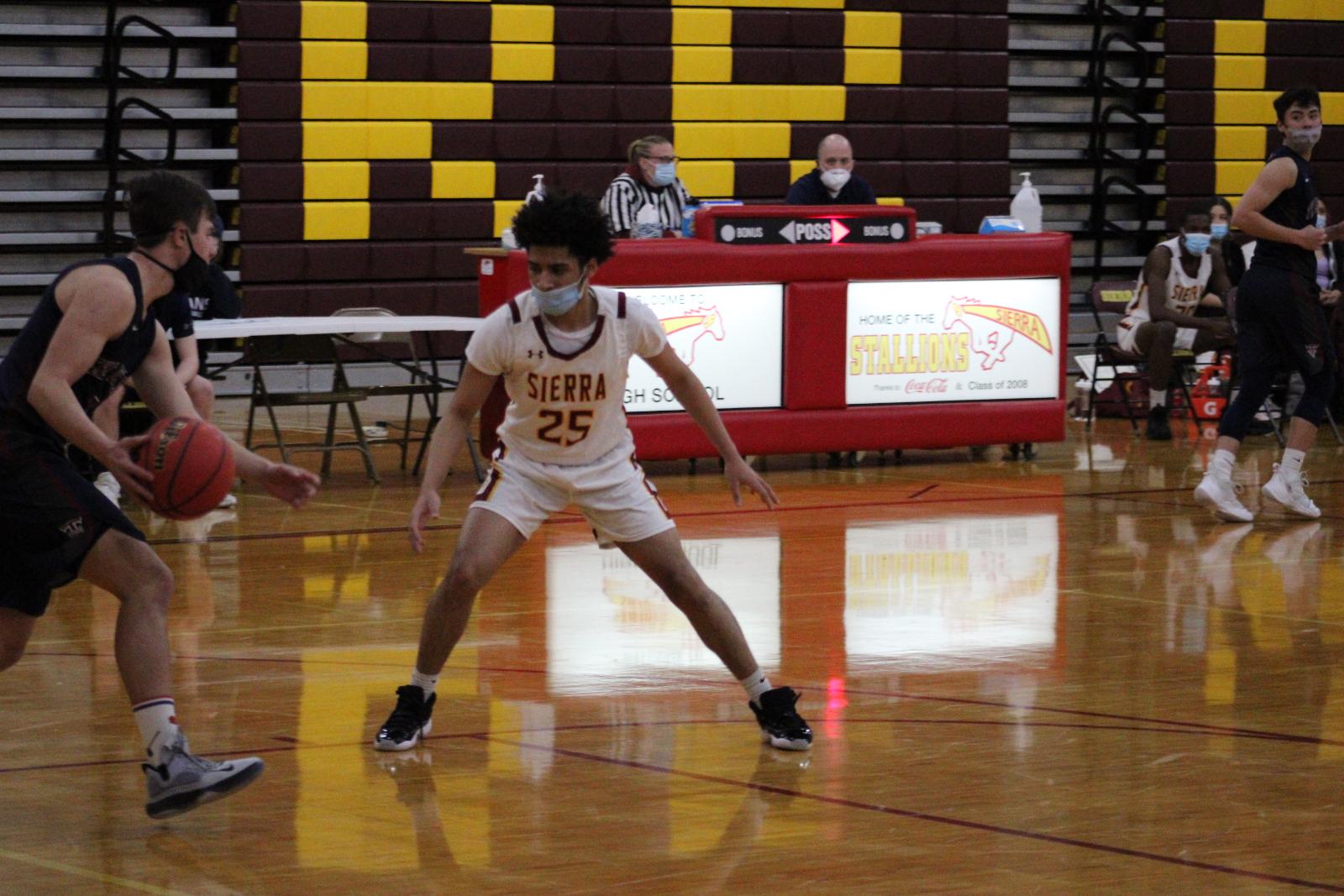 Photo Gallery: Boys Varsity Basketball vs. TCA