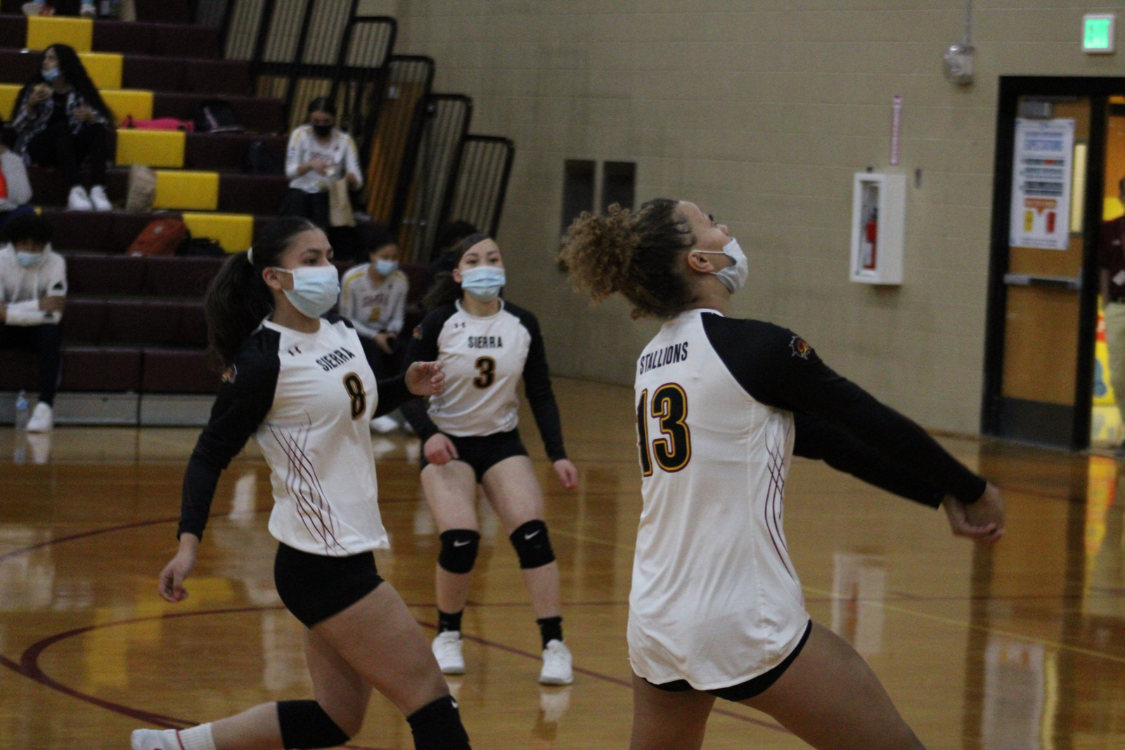 Photo Gallery: Volleyball vs. Falcon