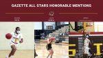 Gazette Basketball All Stars Honorable Mentions