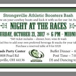 "Booster Club ""Night at the Races"" – October 21st"