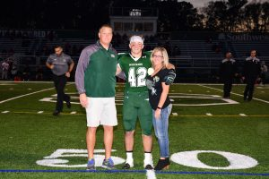 Football and Cheerleading Senior Night
