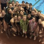 Girls Varsity Swimming finishes 1st place at Wally Relays