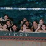Girls Swimming & Diving Team GCC Champions