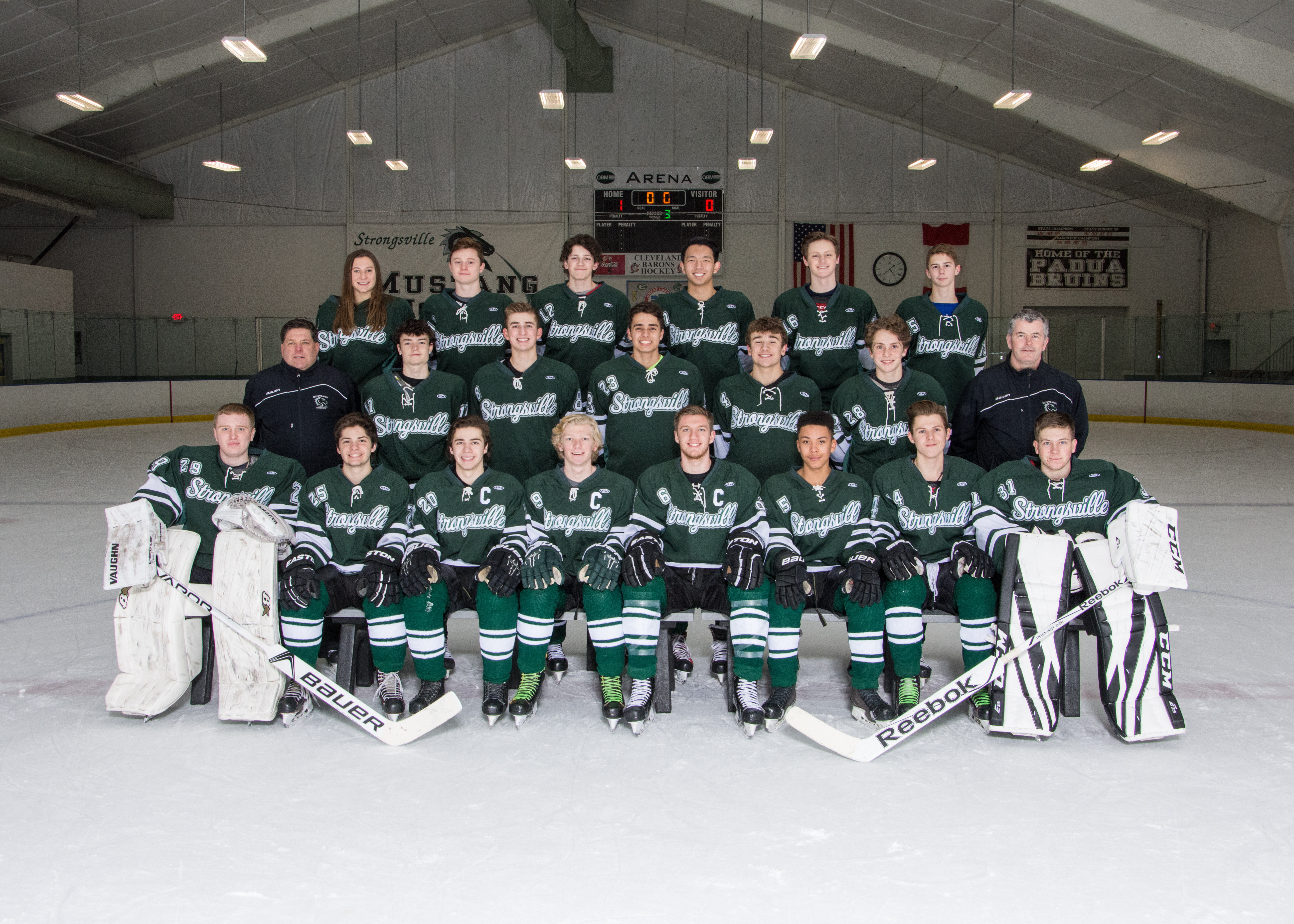Strongsville Hockey Enters Baron Cup Play This Week