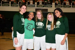 Girls Basketball Senior Night – 2/3/18