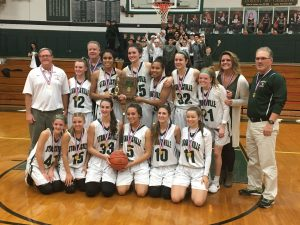 Girls Basketball District Champions