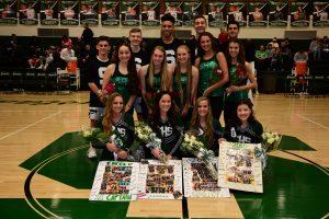 Boys Basketball, Cheerleading and Dance Team Senior Night – 2/23/18