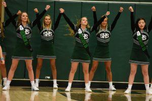 Varsity Girls Basketball Cheerleading