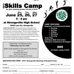 Strongsville Youth Volleyball Camp 6/25-6/27