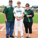 Baseball Senior Day Recognition